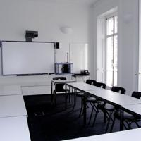 Eurocentres, wnętrze szkoły