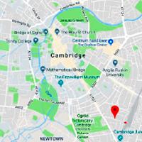 Mapa pokazująca lokalizację STUDIO CAMBRIDGE